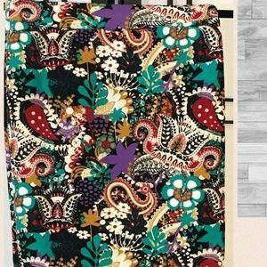 New lularoe cassie colorful skirt size xs